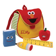 Elmo's Book Bag Playset