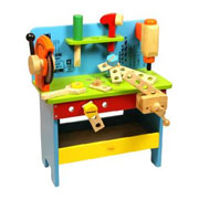 The Wooden Bigjigs Powertools Workbench Toy