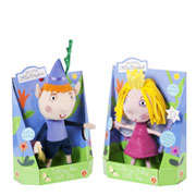 Talking Ben & Holly Toys