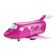 The Pink Barbie Glam Jet