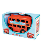 London Bus Toy from Budkins