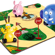 Jungle Junction Playmat The Jungle Junction Wheel Around