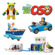 A Selection of Special Agent OSO Goodies