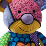 The Colourful Britto Pop Plush Bear from Enesco Gifts