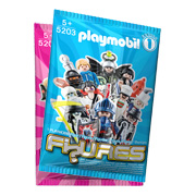 Pink and Blue Playmobil Figures Packaging