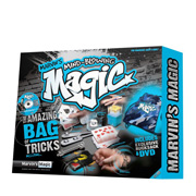 Packaging for Marvin's Magic Amazing Bag of Tricks