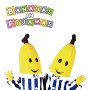 Official Bananas in Pyjamas Logo