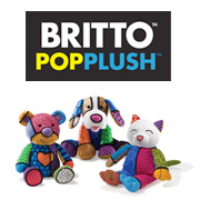 Britto Pop Plush Logo