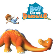 Boy and the Dinosaur Logo