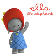 Ella the Elephant Logo