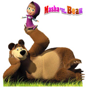 Masha and the Bear Logo