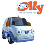 Olly The Little White Van Logo